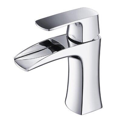 Polar Single Hole Single Handle Bathroom Faucet Finish: Chrome