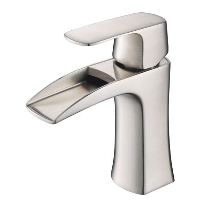 Polar Single Hole Single Handle Bathroom Faucet Finish: Brush Nickel