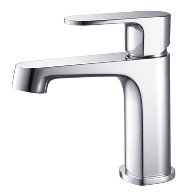 Sancy Single Hole Single Handle Bathroom Faucet Finish: Chrome