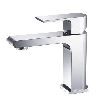 Jubilee Single Hole Single Handle Bathroom Faucet Finish: Chrome