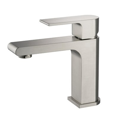 Jubilee Single Hole Single Handle Bathroom Faucet Finish: Brush Nickel