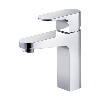 Chloe Single Hole Single Handle Bathroom Faucet Finish: Chrome