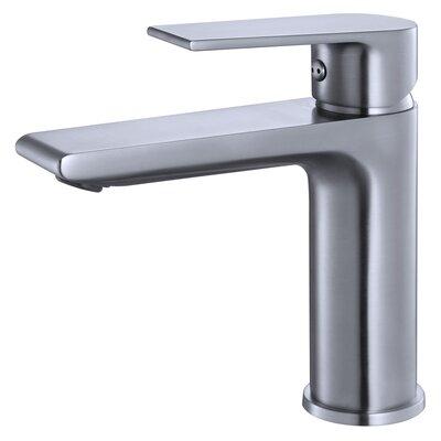 Single Hole Single Handle Bathroom Faucet Finish: Chrome