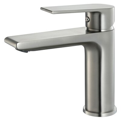 Single Hole Single Handle Bathroom Faucet Finish: Brush Nickel