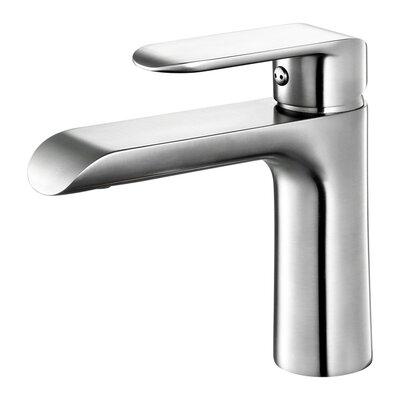 Single Hole Single Handle Bathroom Faucet Finish: Brush Nickel