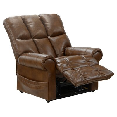 Stallworth Lift Chair Upholstery: Brown