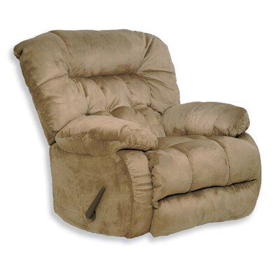 Teddy Bear Recliner Body Fabric: Saddle, Motion Type: Wall Hugger