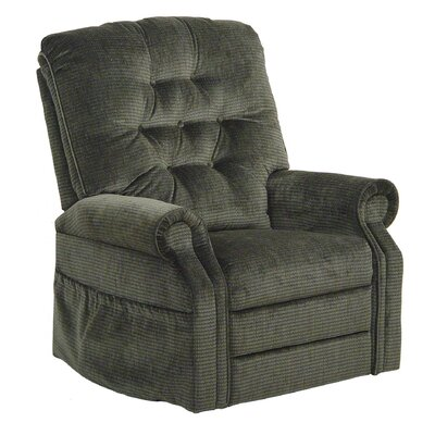 Patriot Powr Full Lay-Out Lift Chair Upholstery: Slate