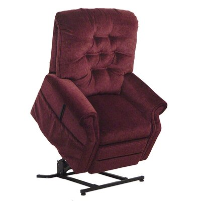Patriot Powr Full Lay-Out Lift Chair Upholstery: Vino