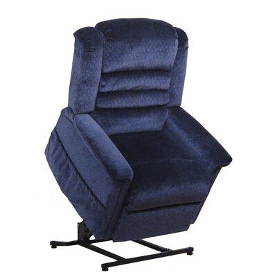 Soother Power Lift Assist Recliner Body Fabric: Galaxy