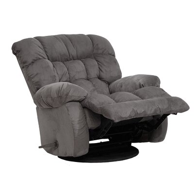 Teddy Bear Chaise Recliner Upholstery: Graphite
