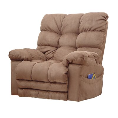 Magnum Chaise Recliner Upholstery: Saddle