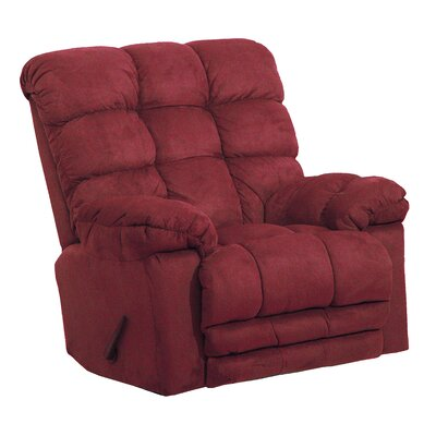 Magnum Chaise Recliner Upholstery: Merlot