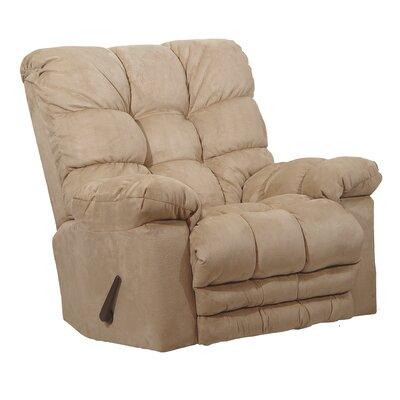 Magnum Chaise Recliner Upholstery: Hazelnut