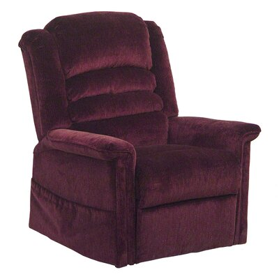 Soother Powr Lift Full Lay-Out Chaise Recliner Upholstery: Vino