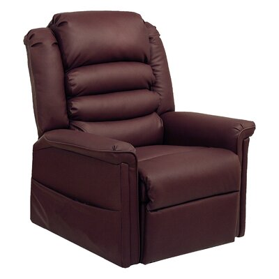 Invincible Power Lift Assist Recliner Body Fabric: Cabernet