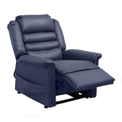 Invincible Power Lift Assist Recliner Body Fabric: Deep Sapphire