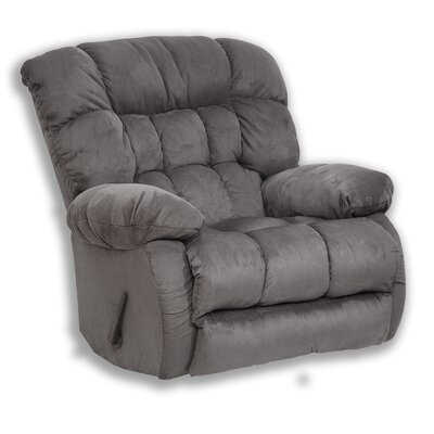 Teddy Bear Recliner Body Fabric: Graphite, Motion Type: Rocker Recliner