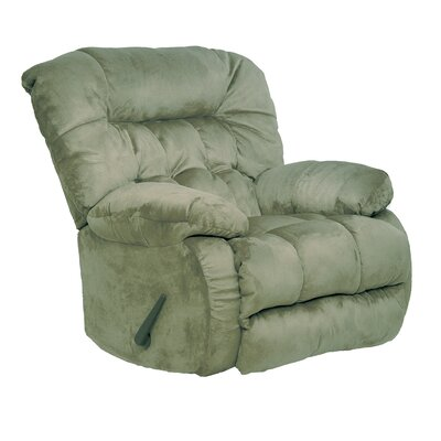 Teddy Bear Recliner Body Fabric: Sage, Motion Type: Rocker Recliner