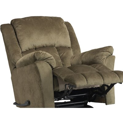Gibson Glider Recliner Body Fabric: Sage, Motion Type: Swivel Glider