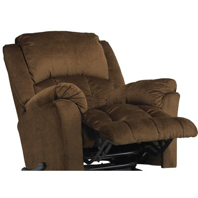 Gibson Glider Recliner Body Fabric: Walnut, Motion Type: Swivel Glider