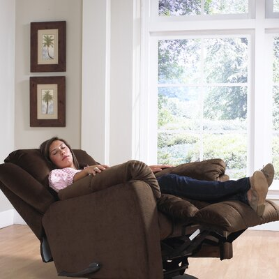 Gibson Chaise Recliner Upholstery: Walnut