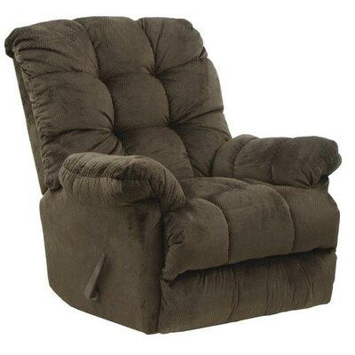 Nettles Rocker Recliner Body Fabric: Umber