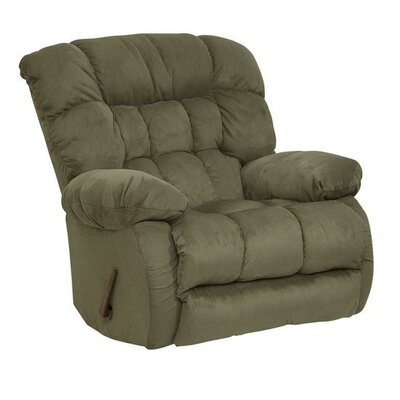 Teddy Bear Chaise Recliner Upholstery: Sage