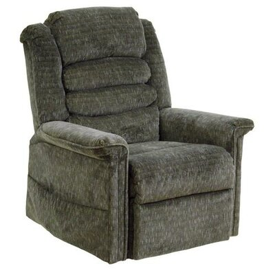 Soother Powr Lift Full Lay-Out Chaise Recliner Upholstery: Woodland