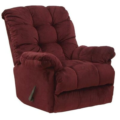 Nettles Rocker Recliner Body Fabric: Merlot