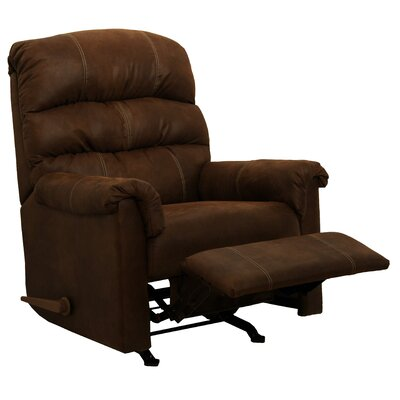 Capri Chaise  Recliner Upholstery: Chocolate