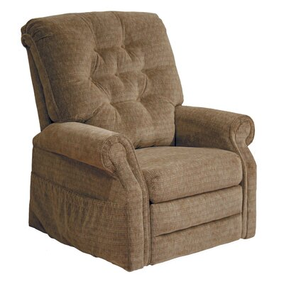 Patriot Powr Full Lay-Out Lift Chair Upholstery: Autumn