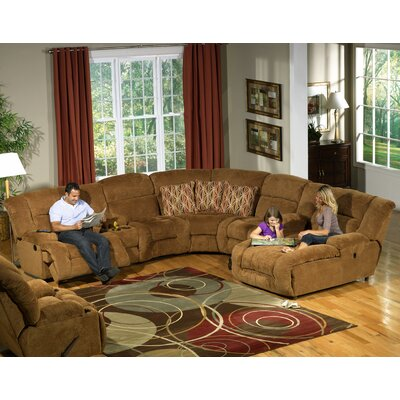 AC Pacific Peter Dual Reclining Sectional | Wayfair