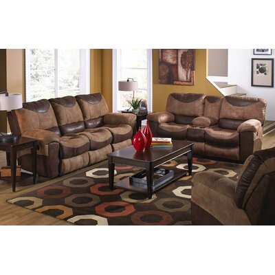 Portman Reclining Loveseat w/Storage & Cupholders Reclining Type: Power
