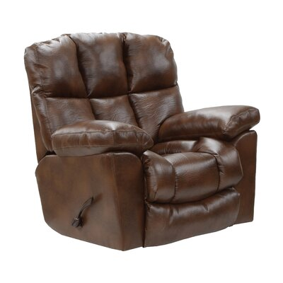Griffey Rocker Recliner Body Fabric: Tobacco, Reclining Type: Power