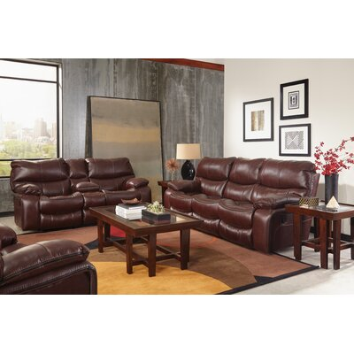 Camden No Motion Recliner Body Fabric: Walnut, Reclining Type: Manual