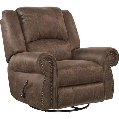 Westin No Motion Recliner Body Fabric: Tanner, Reclining Type: Power