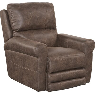 Maddie No Motion Recliner Body Fabric: Tanner, Reclining Type: Manual