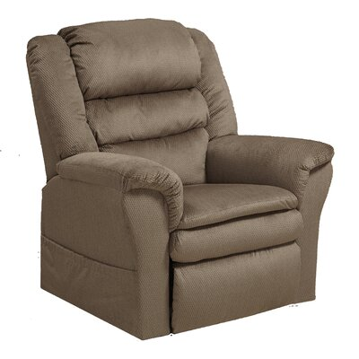 Preston No Motion Power Recliner Body Fabric: Coffee