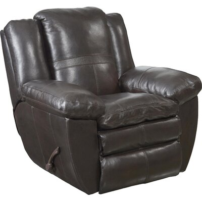 Aria No Motion Recliner Body Fabric: Chocolate, Reclining Type: Manual