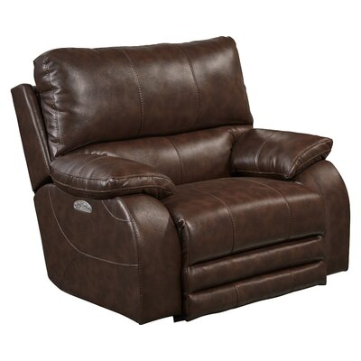 Sheridan No Motion Power Recliner Body Fabric: Java, Lumbar Support: Yes
