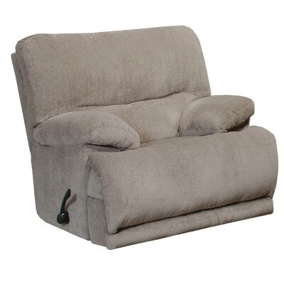 Jules Chaise Rocker Recliner Body Fabric: Pewter