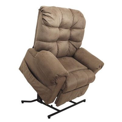 Omni No Motion Power Recliner Body Fabric: Saddle