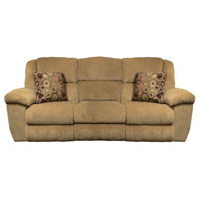 Transformer Ultimate Reclining Sofa Body Fabric: Beige/Havana