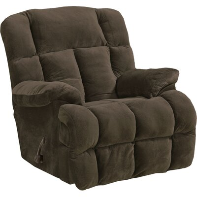 Cloud 12 Recliner Body Fabric: Chocolate, Reclining Type: Manual, Motion Type: Rocker