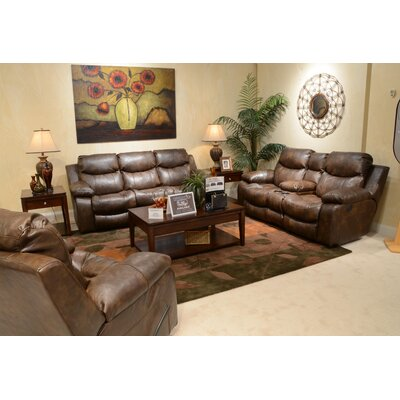 Catalina No Motion Recliner Body Fabric: Timber, Reclining Type: Power