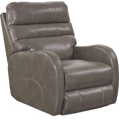 Searcy No Motion Recliner Body Fabric: Ash, Reclining Type: Manual