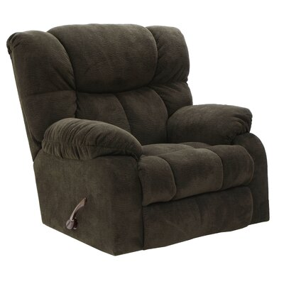 Popson No Motion Recliner Body Fabric: Chocolate