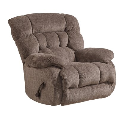Daly No Motion Recliner Body Fabric: Chateau, Reclining Type: Manual, Motion Type: Swivel Glider