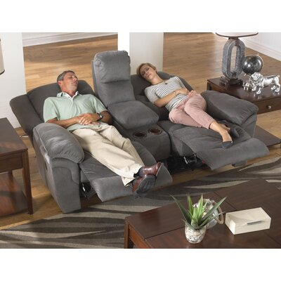 Joyner Recliner Body Fabric: Slate, Reclining Type: Manual